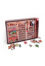 Midnight Oil Print -  Puzzle Home Office Jigsaw / 1008 pcs