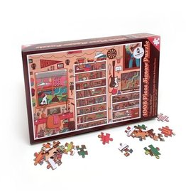 Midnight Oil Print -  Home Office Jigsaw Puzzle 1008 Piece