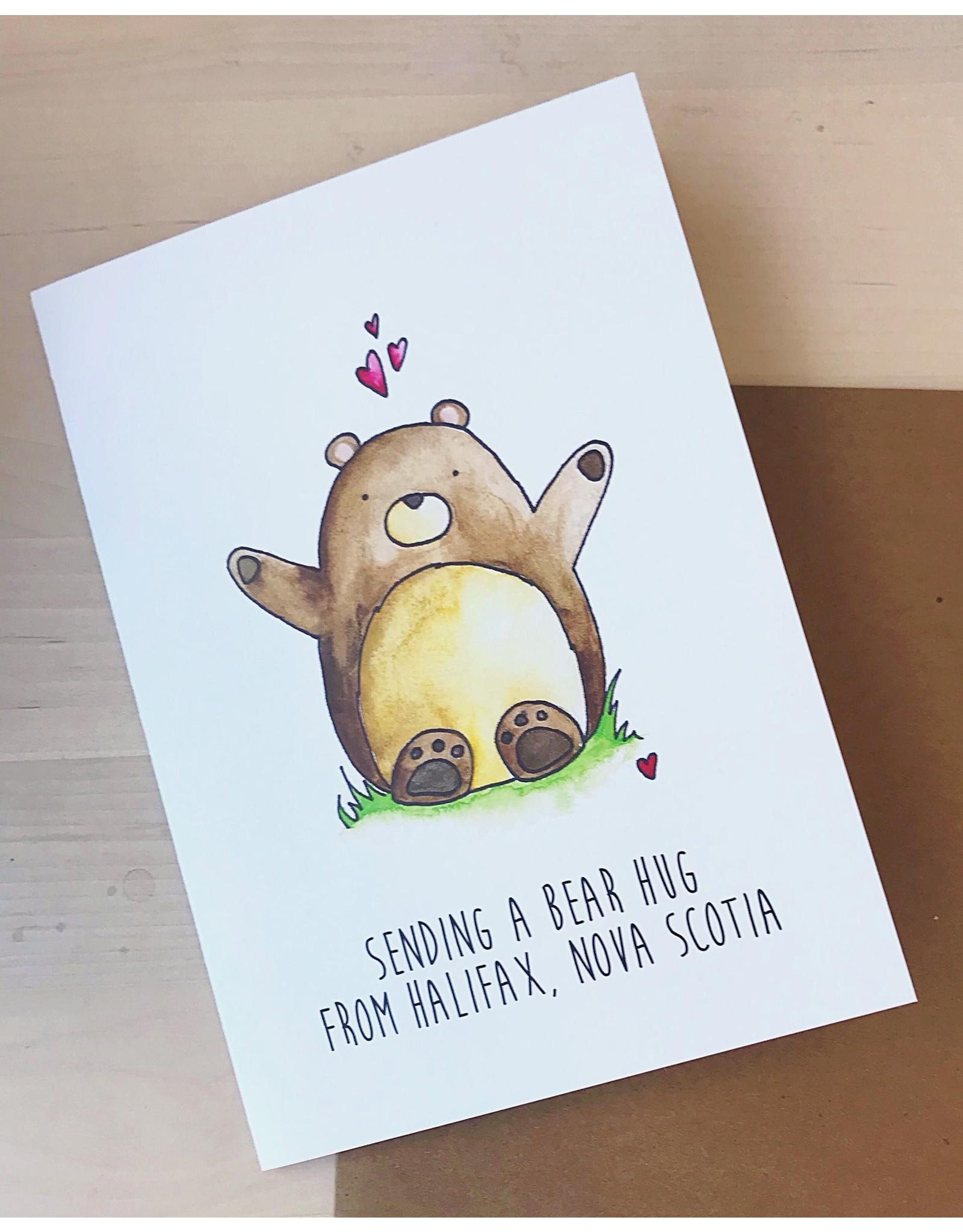 BBN - Card/ Bear Hug