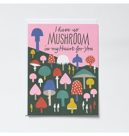 BOP - I Have So Mushroom In My Heart For You Card