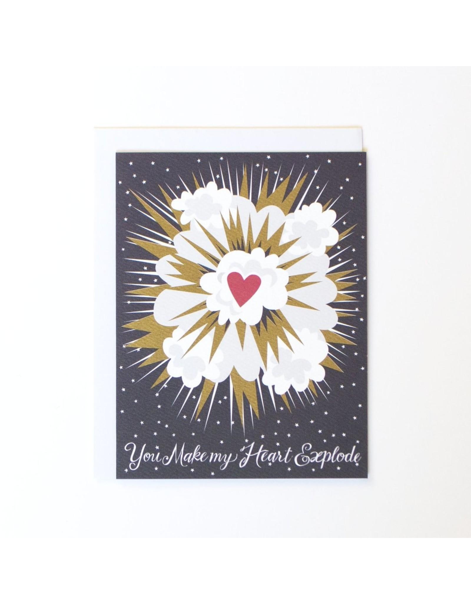 BOP - Card/ Heart Explosion