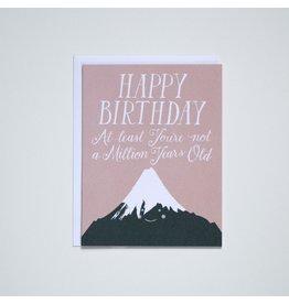 BOP - Card/ Mountains Happy Birthday