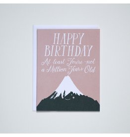 BOP - Mountains Happy Birthday Card