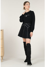 MLY - French Bow Short Skirt