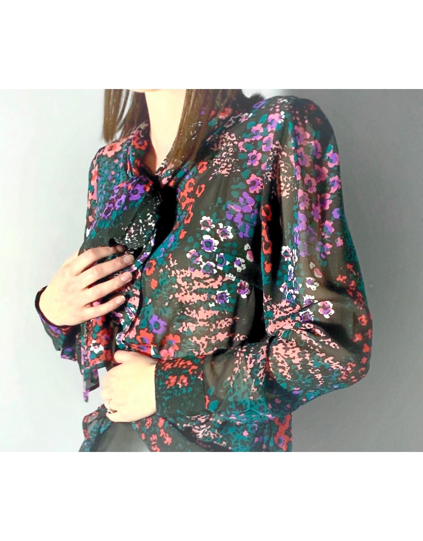 MLY - Print L/S Floral Shirt