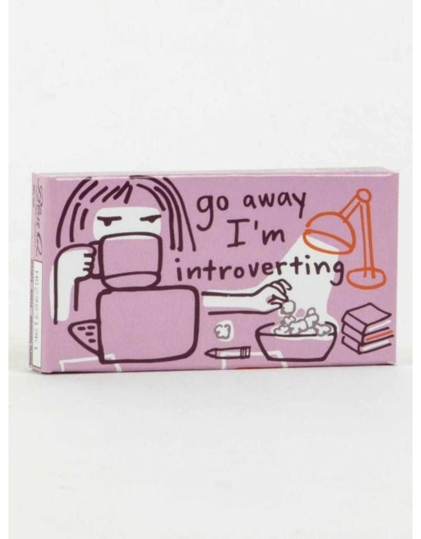 Blue Q - Go Away I'm Introverting Gum