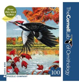 NLE - Pileated Woodpecker Mini Puzzle / 100pcs