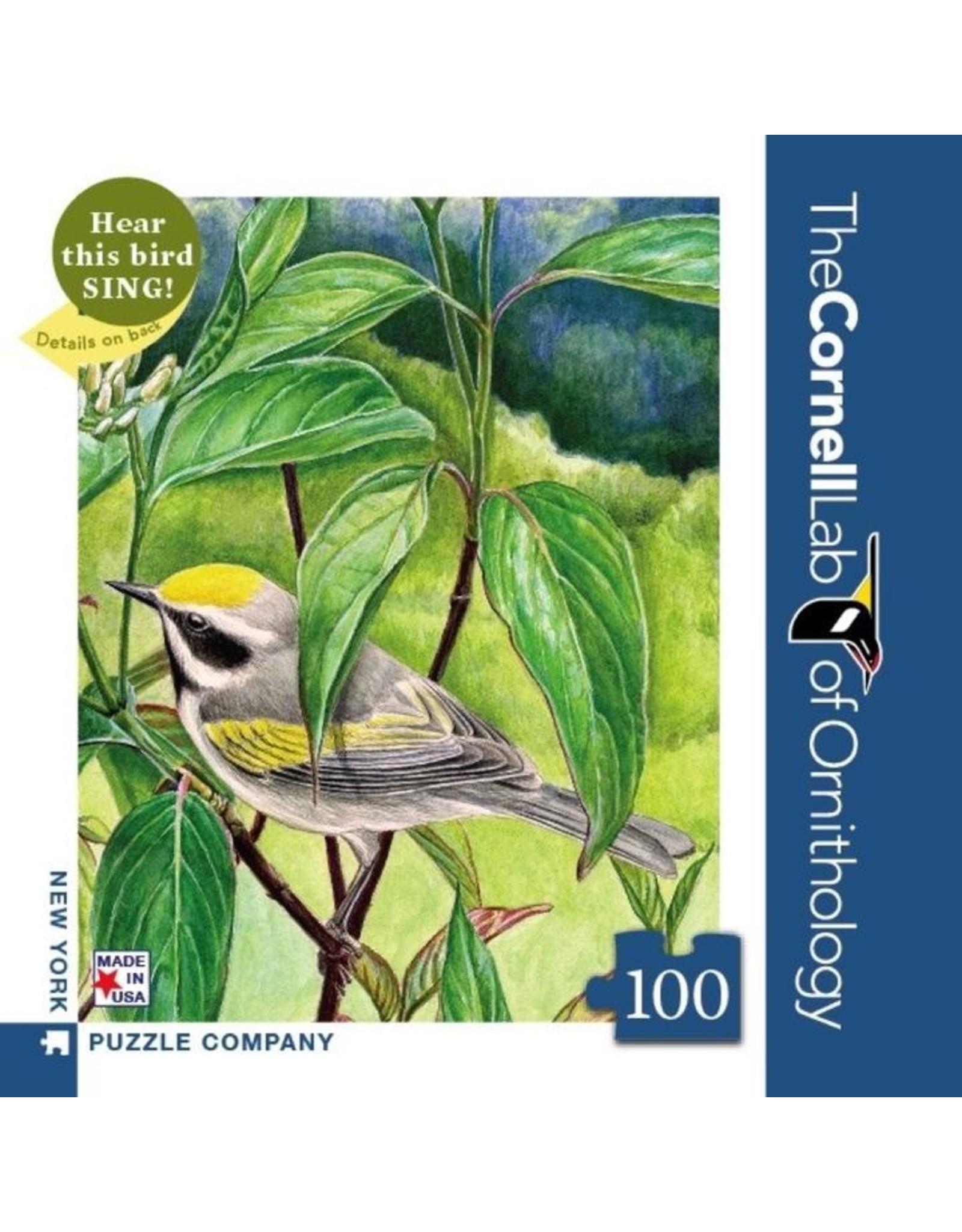 NLE - Mini Puzzle Golden-Winged Warbler / 100pcs