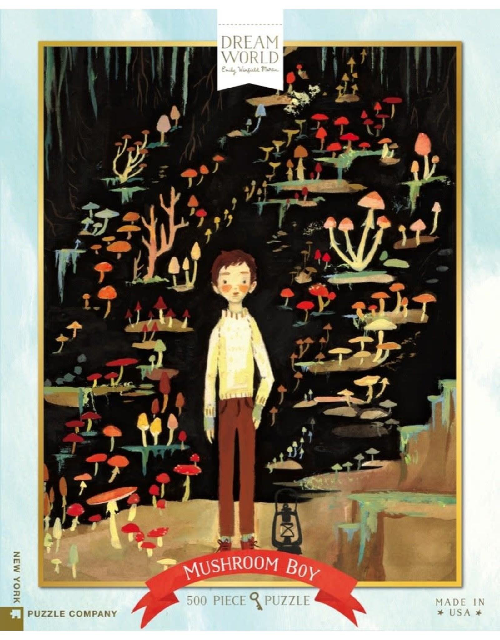 NLE - Puzzle Mushroom Boy / 500 pcs