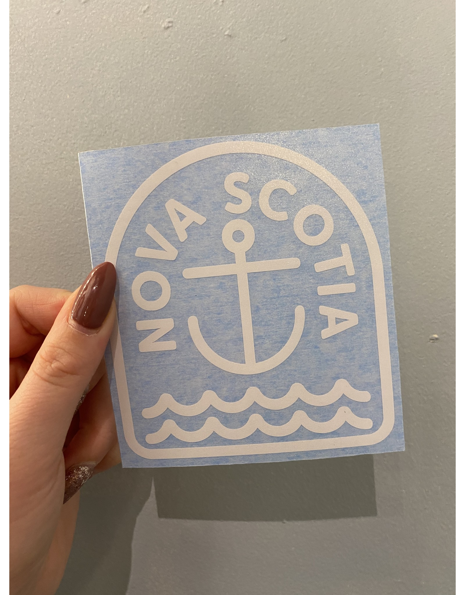 SST - Nova Scotia Anchor Sticker