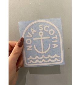 SST - Nova Scotia Anchor Sticker