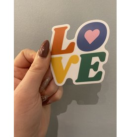 SST - LOVE Sticker