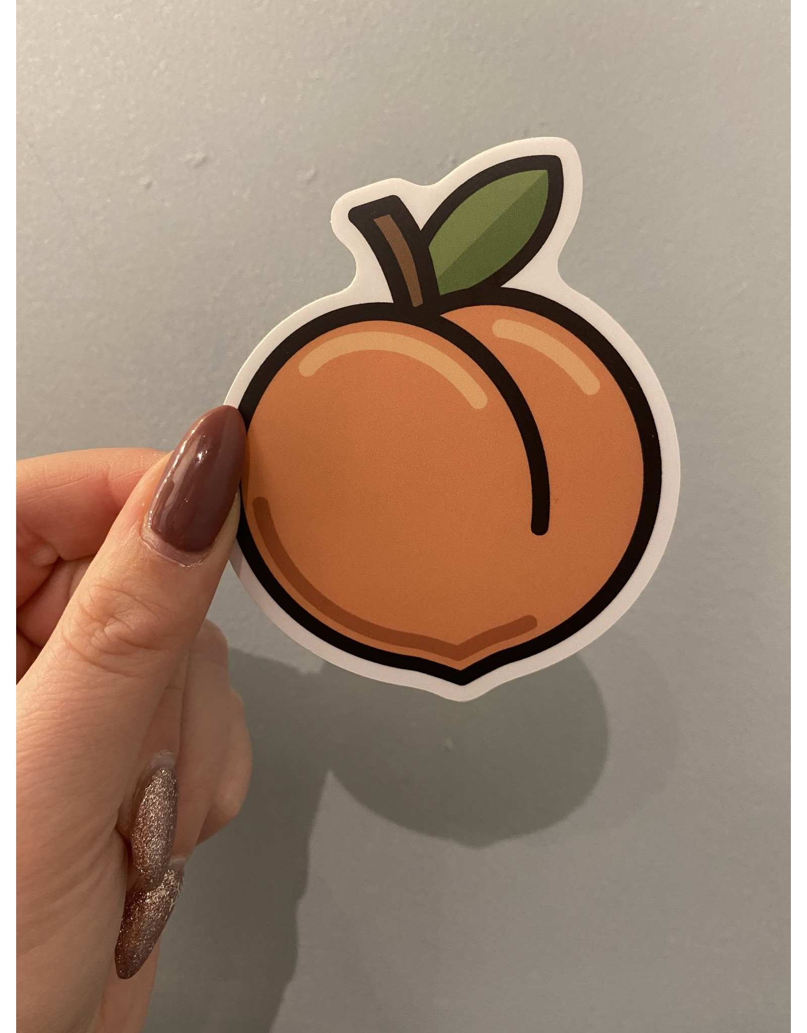 SST - Peach Sticker