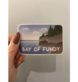 SST - Bay Of Fundy Sticker