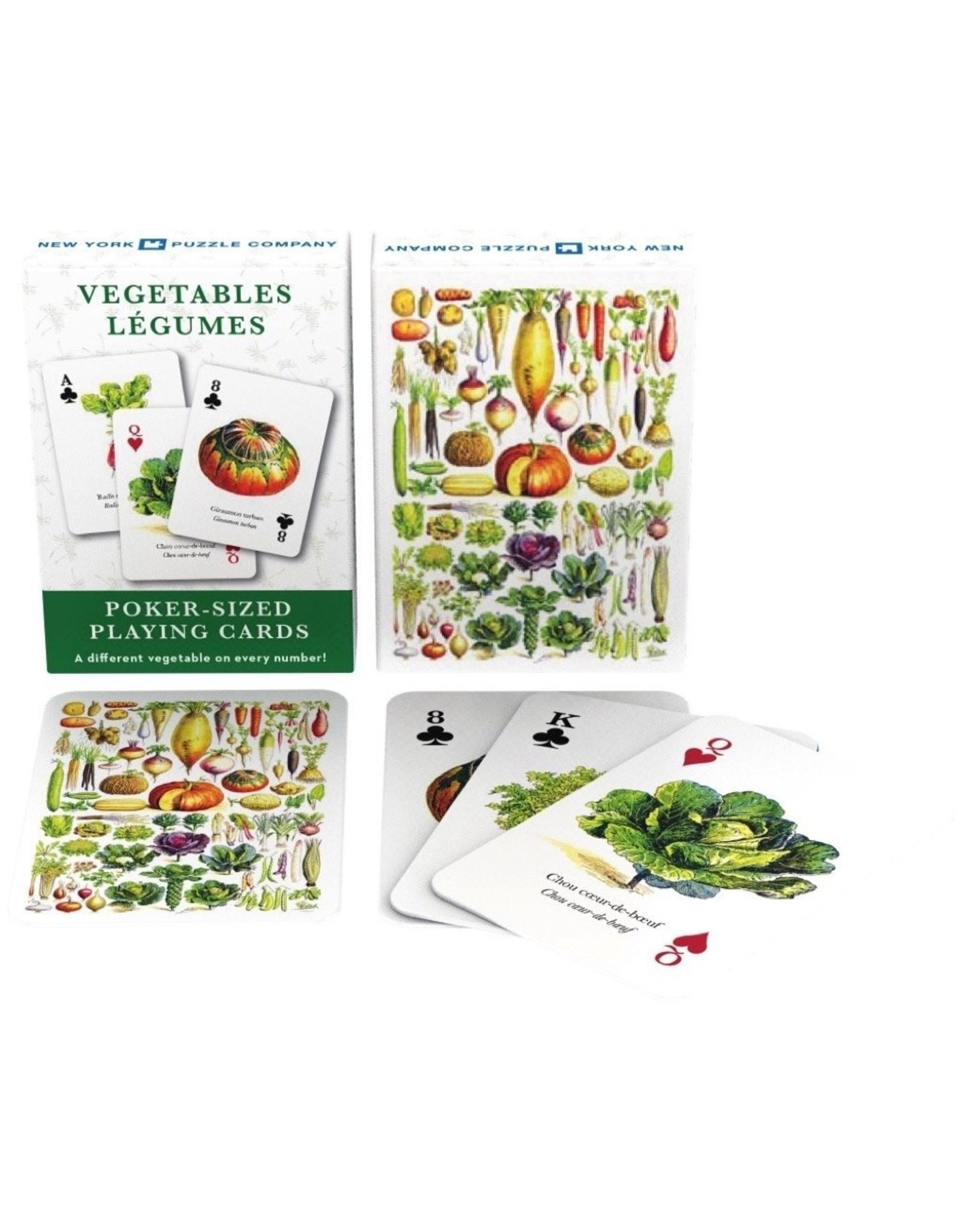 NLE - Veggie Playing Cards