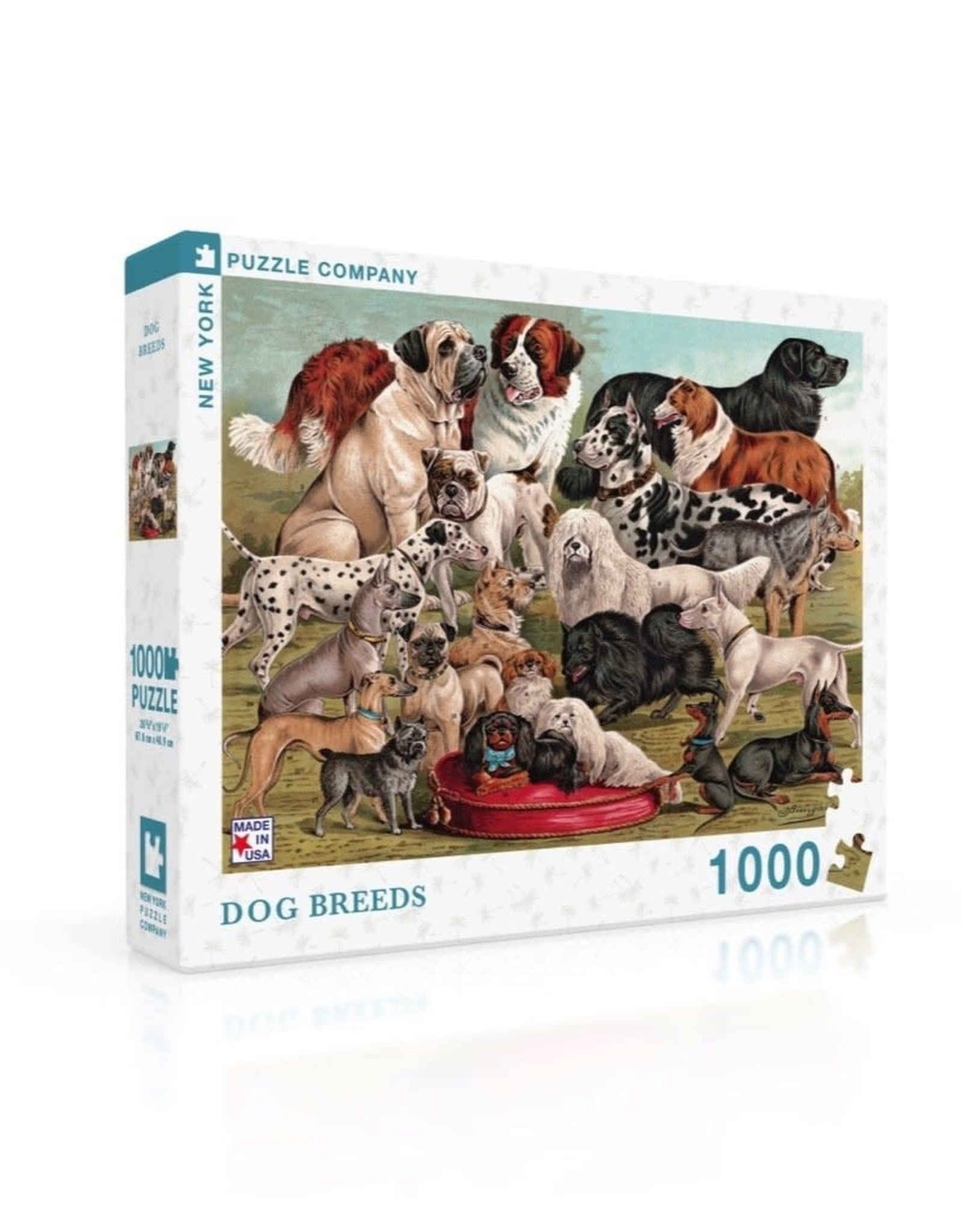 NLE - All The Dogs Puzzle / 1000pcs
