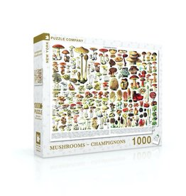 NLE - Mushrooms Puzzle / 1000pcs