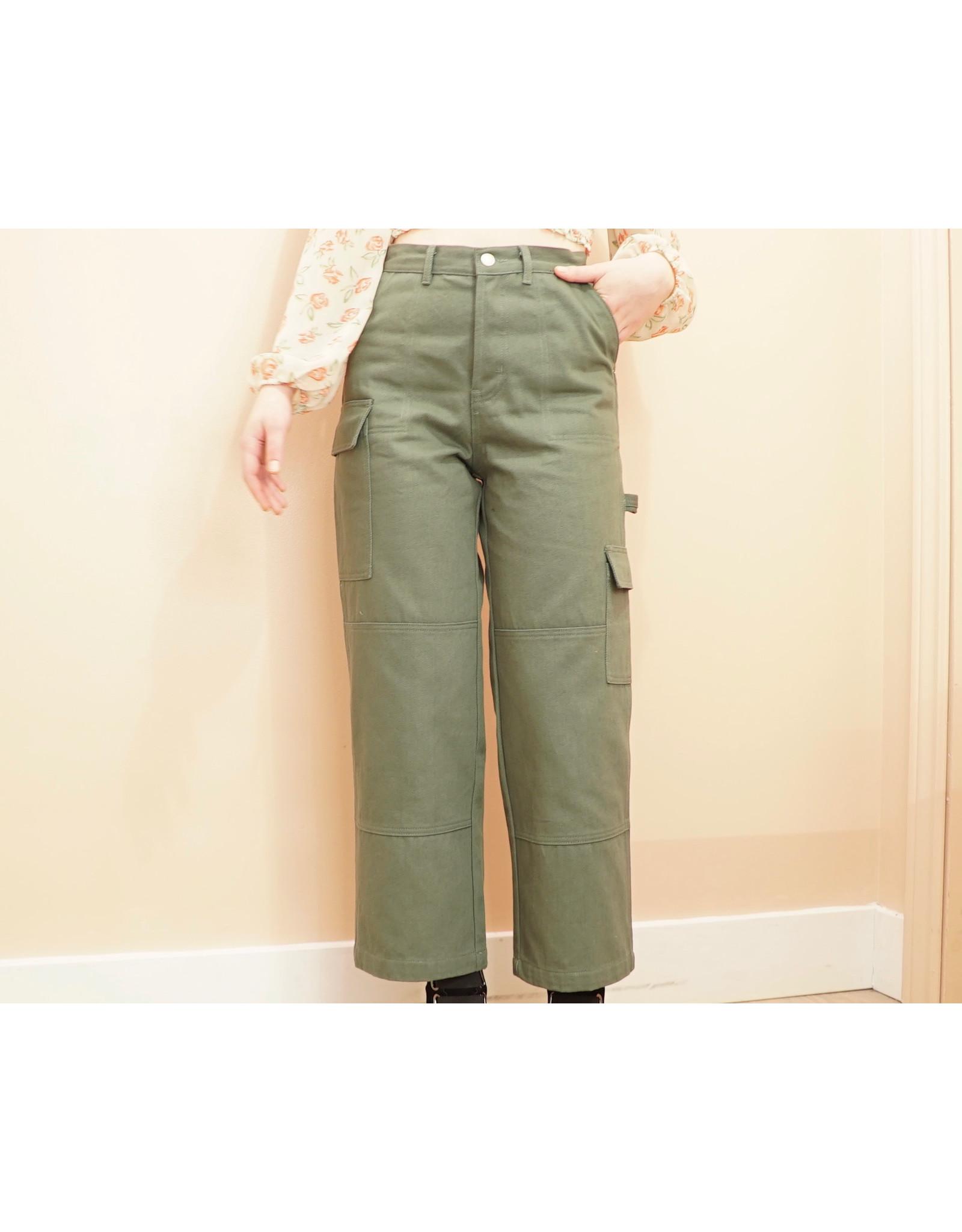 No Less Than - Denim Pocket Pant