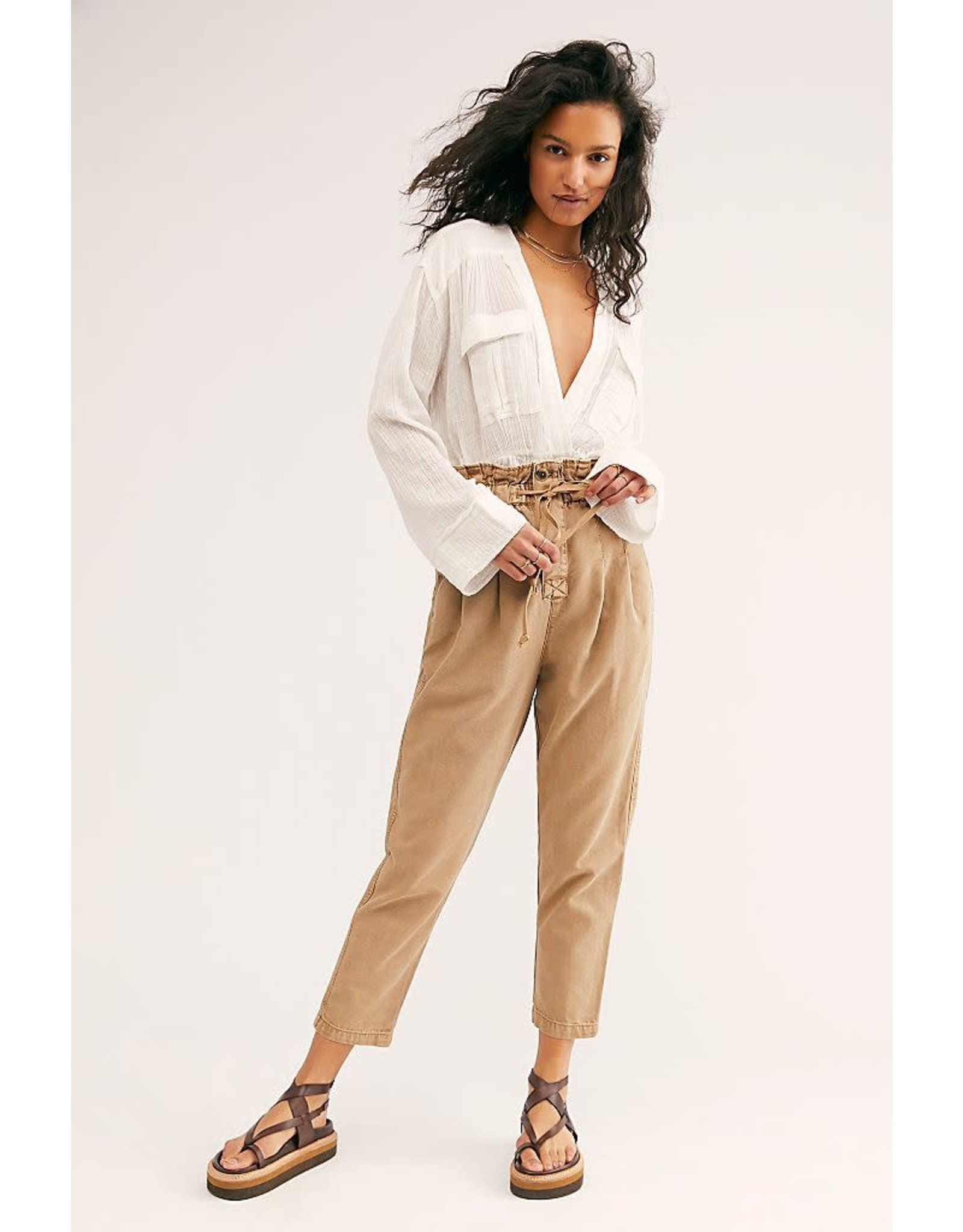 Free People - Paper Bag Trouser