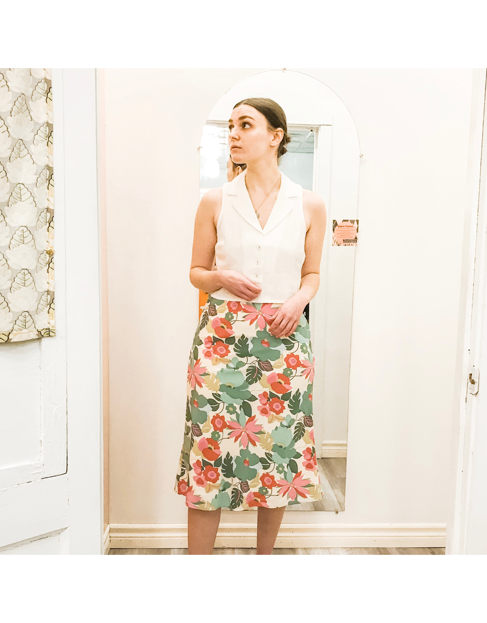 Bonanza - Floral Sweet Skirt