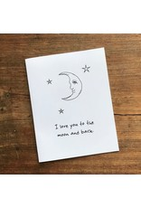 Hatched - Moon and Back Card