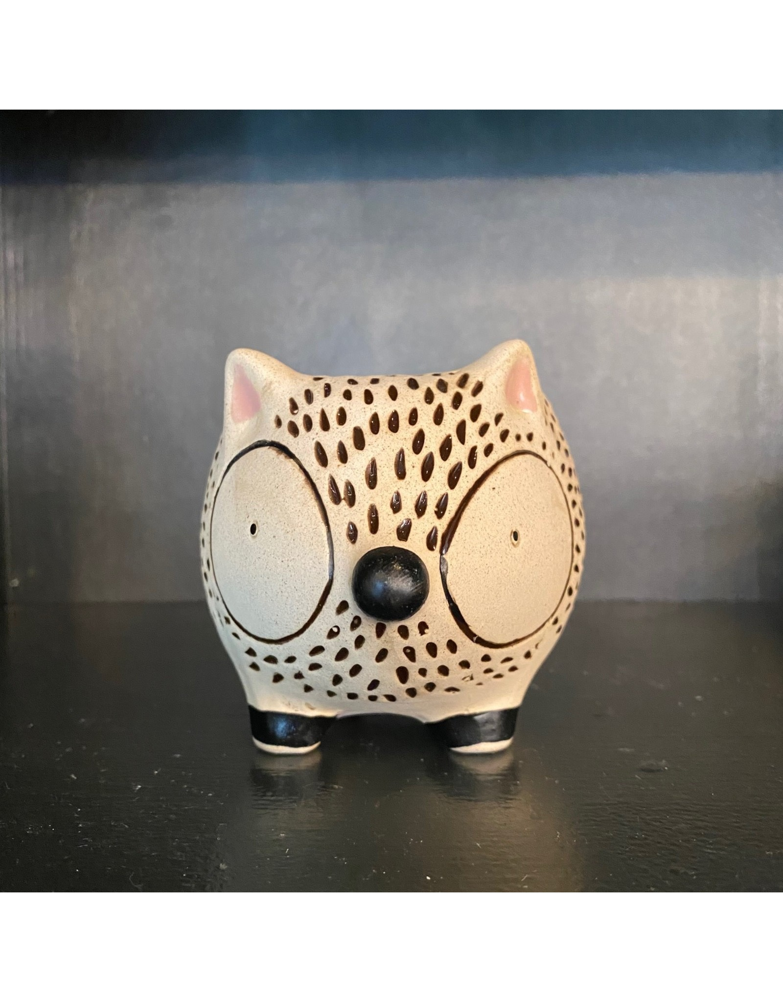CTG - Hedgehog Ceramic Planter 4.65""
