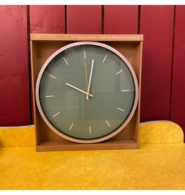 CTG - Jade Wall Clock 14""