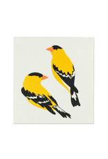 ATT - Swedish Dishcloth / Two Finches