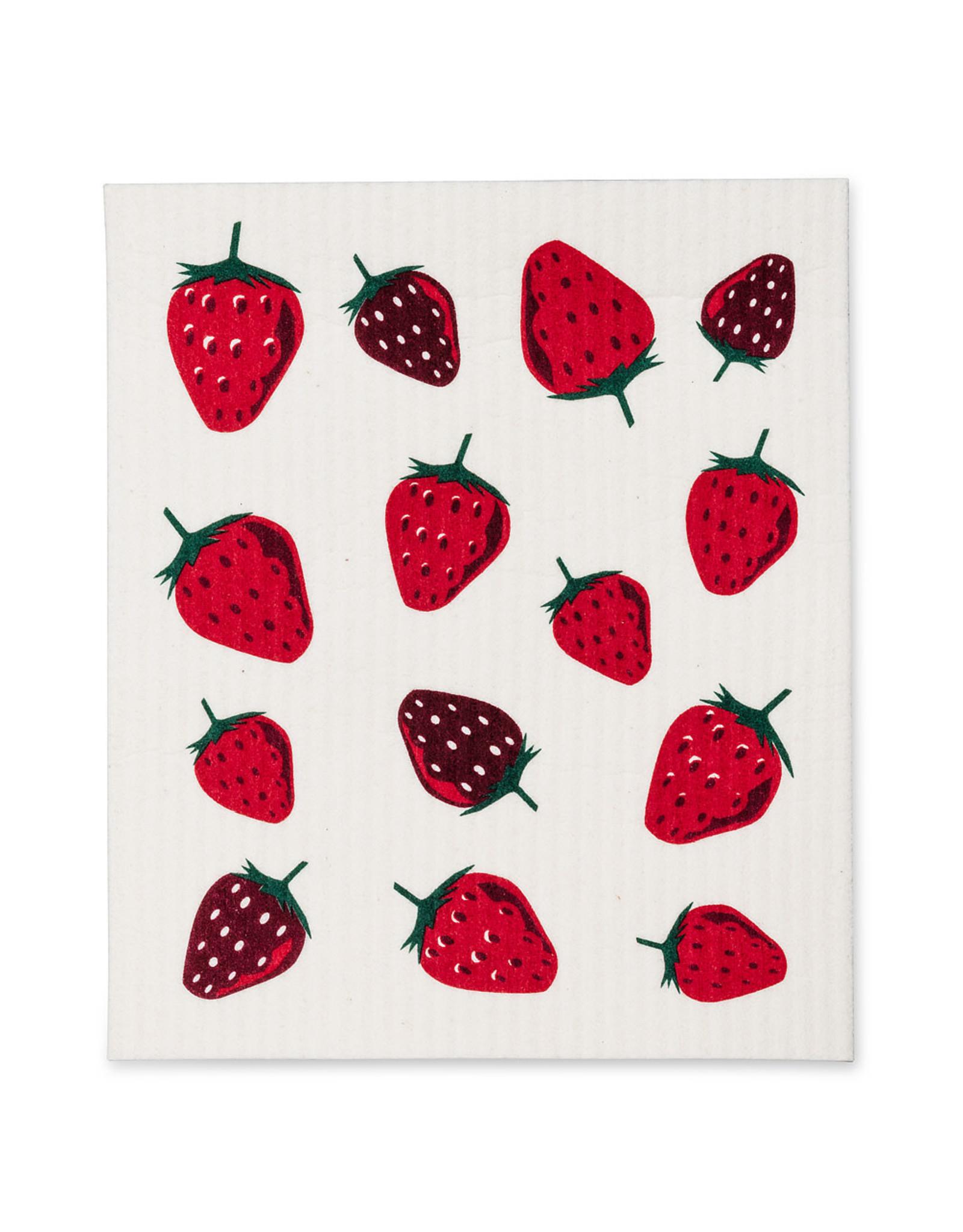 ATT - Swedish Dishcloth / Multi Strawberries