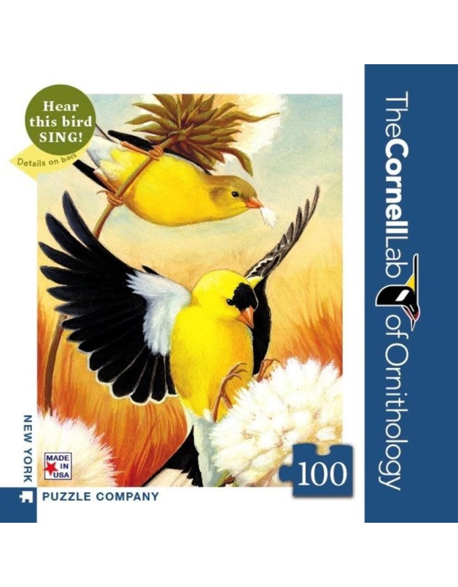 NLE - Mini Puzzle American Goldfinch  / 100pcs