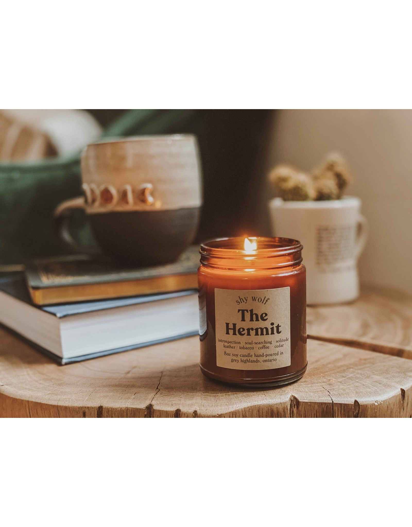 Shy Wolf - The Hermit Candle - 8 oz