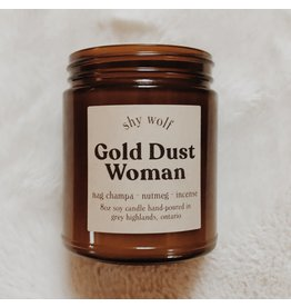 Shy Wolf - Gold Dust Woman Candle 8 oz.