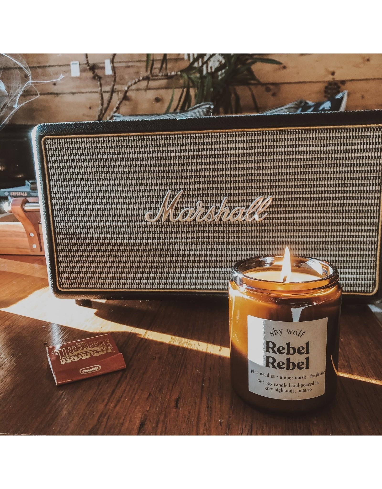Shy Wolf - Rebel Rebel Candle - 8 oz