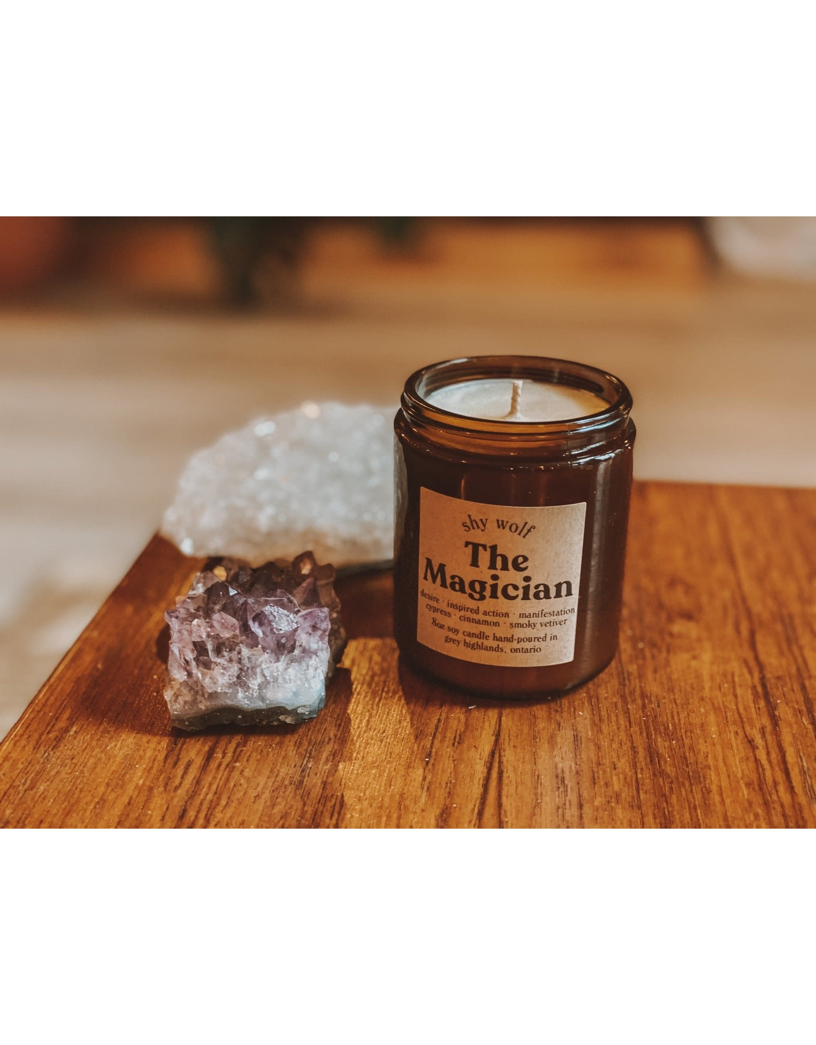Shy Wolf - The Magician Candle - 8 oz