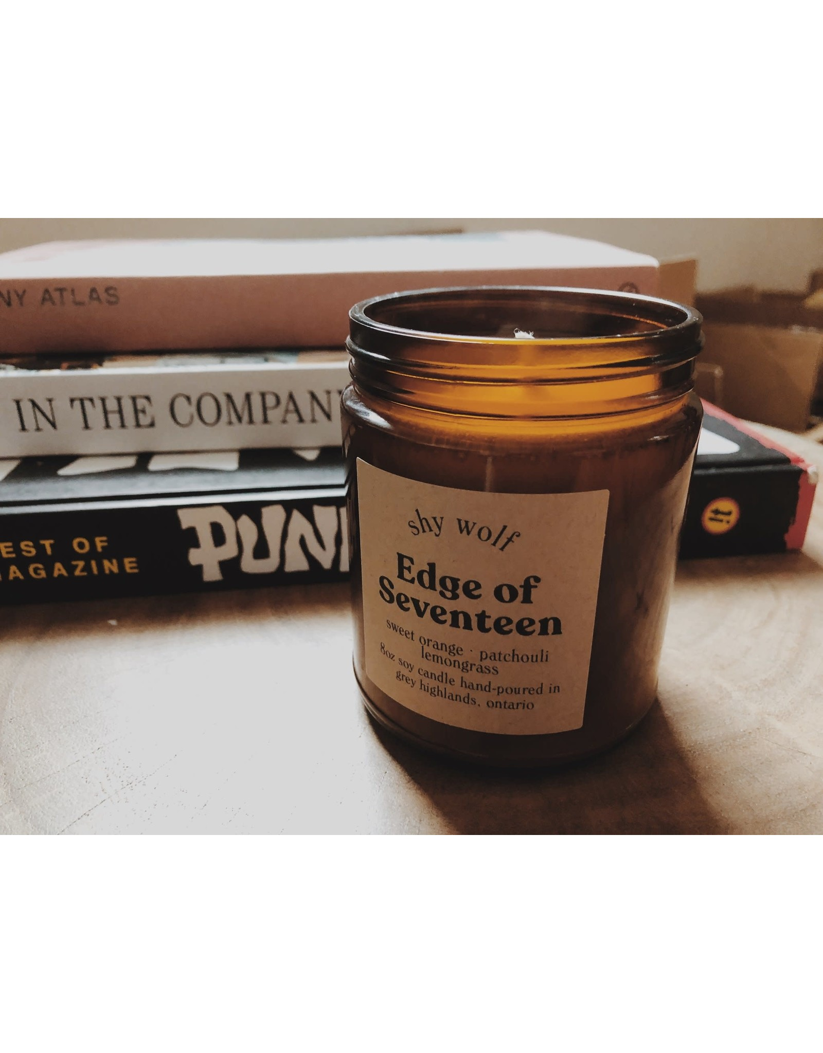 Shy Wolf - Edge of Seventeen Candle 8 oz