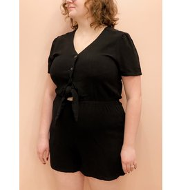 Bonanza - Laid Back Romper Pink or Black