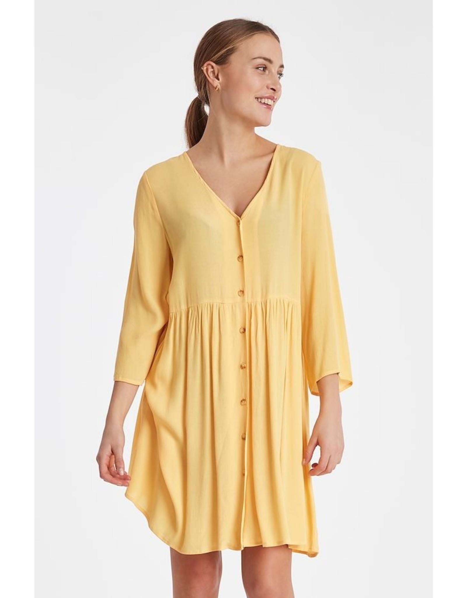 IDK - Long Sleeve Button  Dress