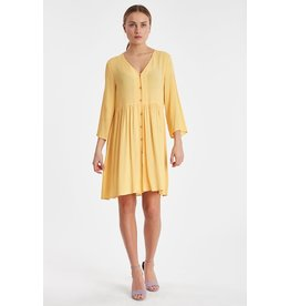 IDK - Long Sleeve Button  Dress