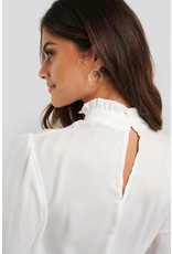 NA-KD - Ruffle Sleeve Blouse