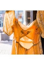 Bonanza - Square Neck Buttercup  Dress