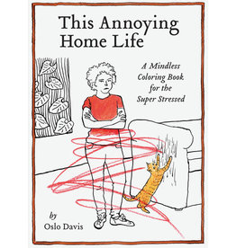 RST - This Annoying Home Life Coloring Book