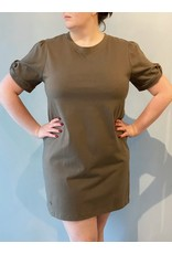 Bonanza - T-Shirt Dress/ Black or Green
