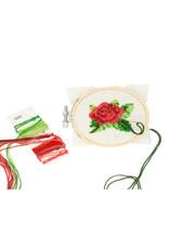 KND - Cross Stitch Embroidery Kit Rose