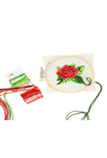 KND - Rose Cross Stitch Embroidery Kit