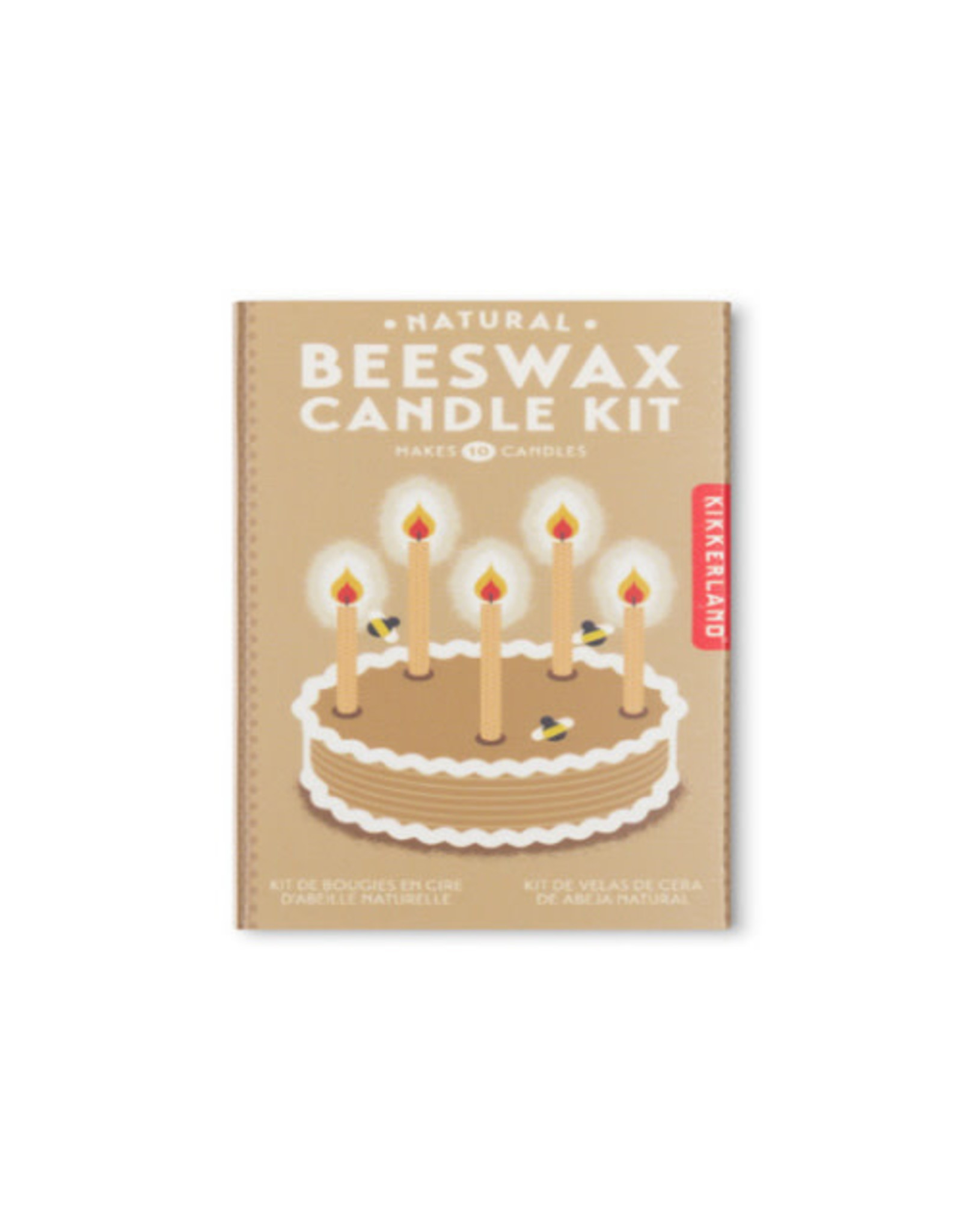 KND - Beeswax Candle Kit/Natural