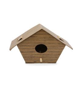 KND - DIY Bird Log Cabin