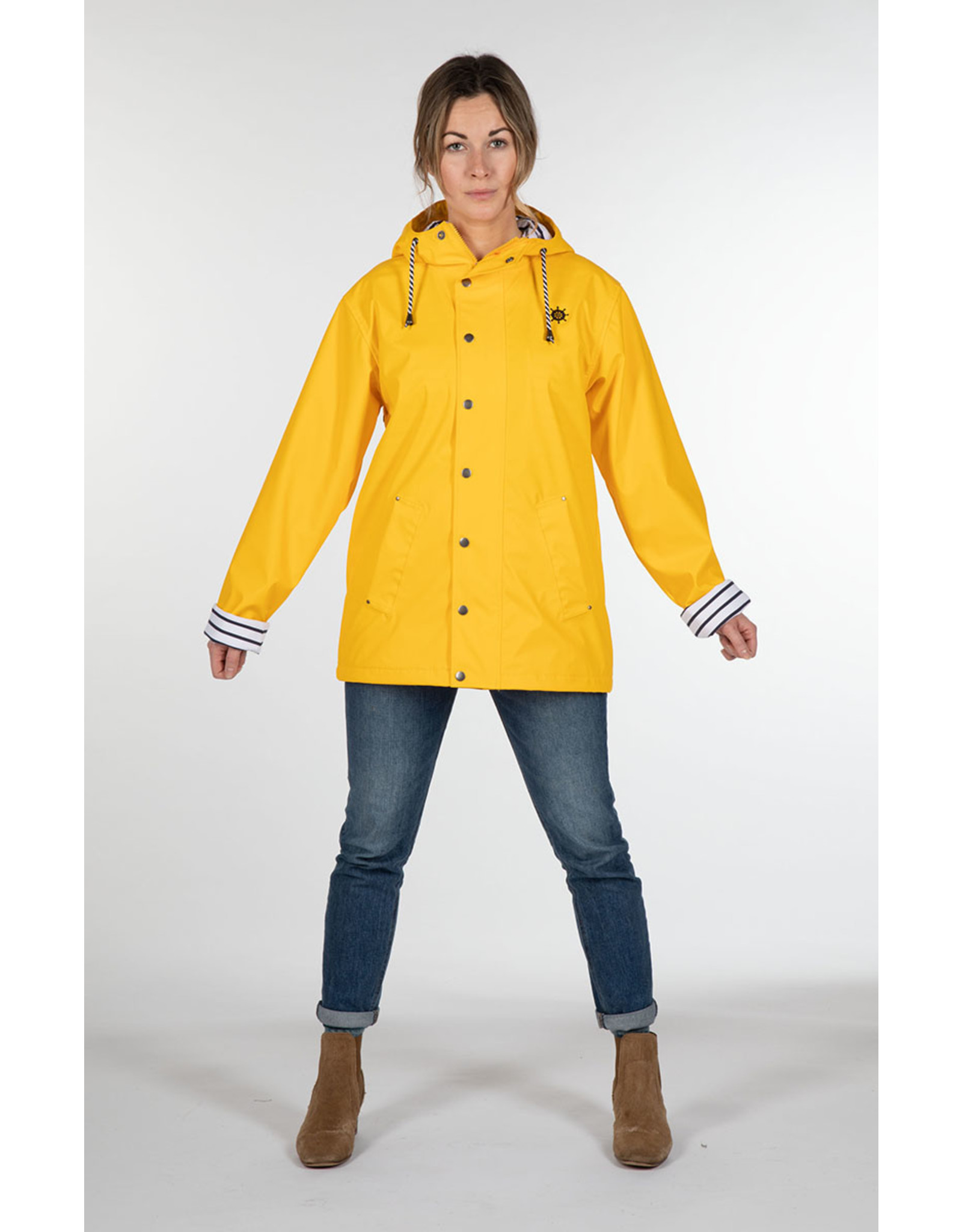 ANO - Gender Free Waterproof Raincoat/ Yellow or Navy Blue
