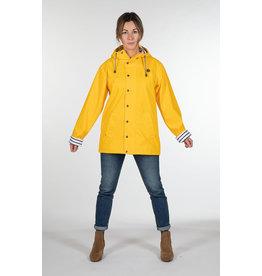 ANO - UNISEX Waterproof Raincoat/ Yellow or Navy Blue