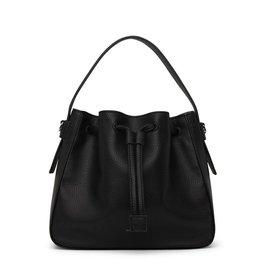 Matt & Nat - Bucket Bag  Amber /Black