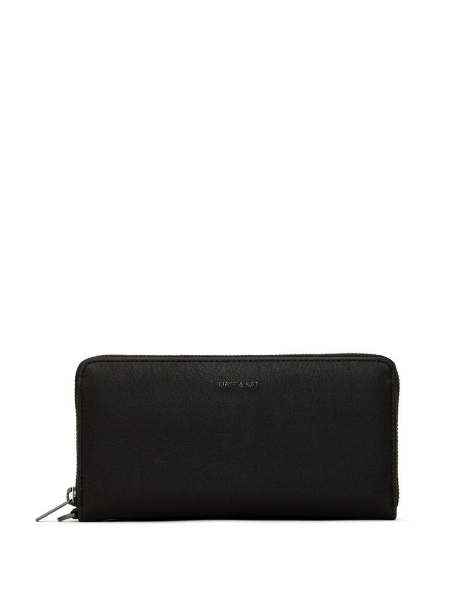 Matt & Nat - Elm Wallet With Wrist Strap/Black